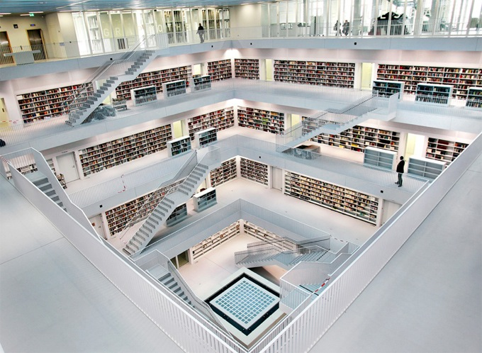 Interesting Modern Architecture Library Y With Design