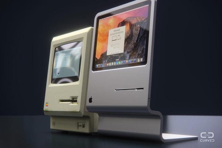 Sleek Quot Mac 2015 Quot Computer Modeled After Apple S First