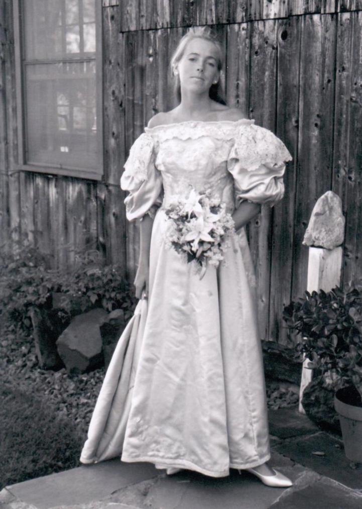 Bride No 8 Jane Odgen Wed James Houston In 1986