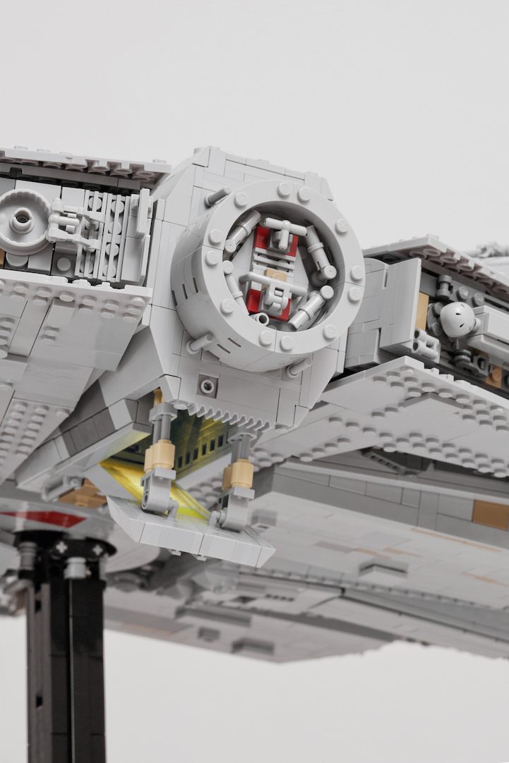 Star Wars Fan Spends A Year To Intricately Replicate The Millennium