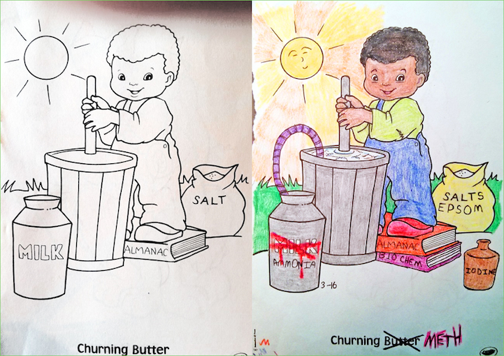 Coloring Book Corruptions Website Via Laughing Squid