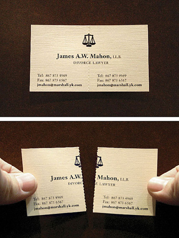 Top 10 Clever Business Cards