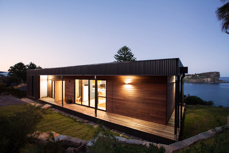 Modular Green-Roofed House
