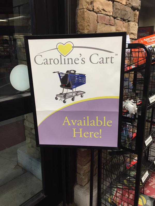 Caroline's Cart In Shopping Stores