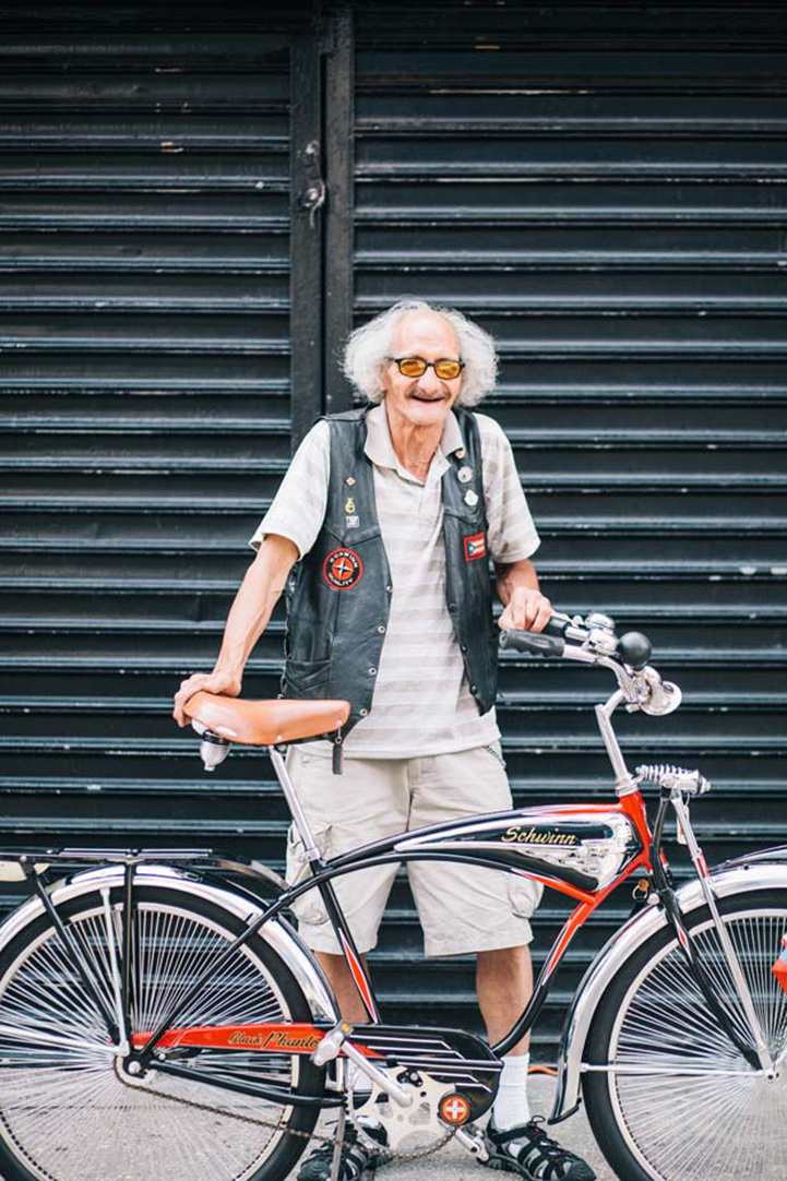 Stylish New Yorkers Pose For Portraits With Their Bikes