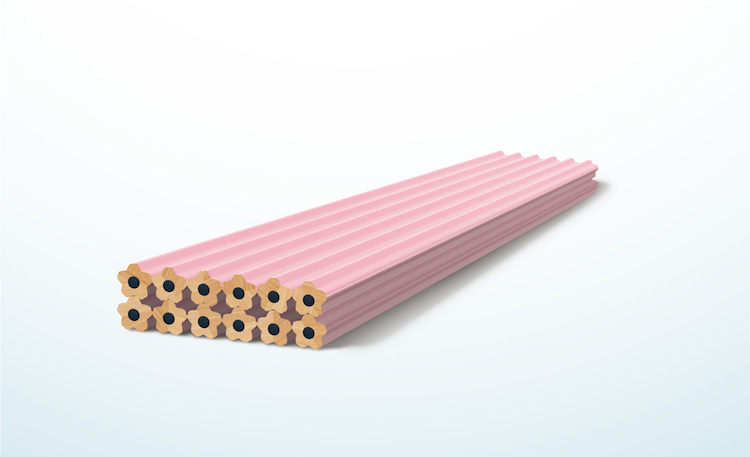 Blooming Cherry Blossom Pencil