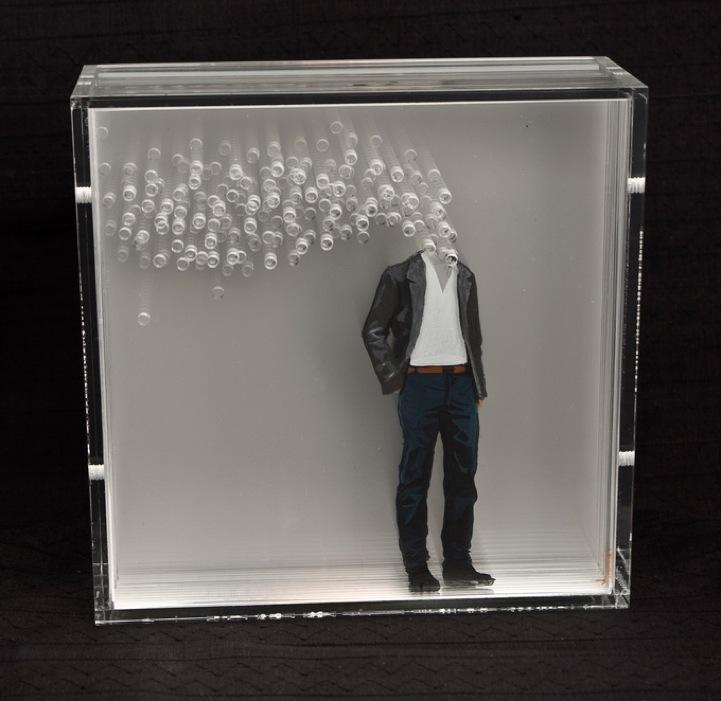 New Layered Plexiglass Artworks By Yosman Botero