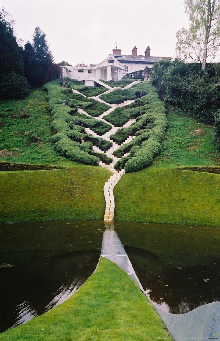 Charles Jencks MindBending Landscape Architecture