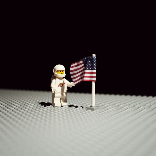 Celebrating Apollo 11 Lego Style