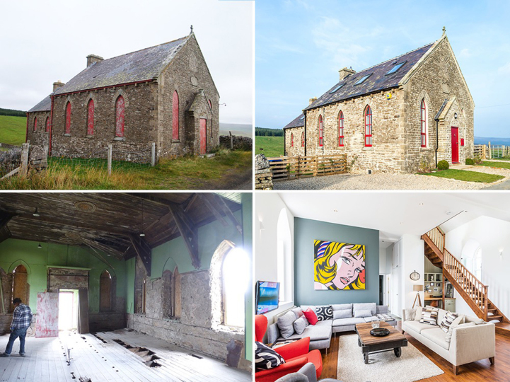 Charming Gothic Style Chapel Transformed Into A Stunning Holiday Cottage