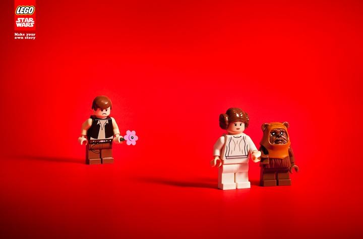 Creative ads lego star wars 5 total for Lego ads tejasakulsin