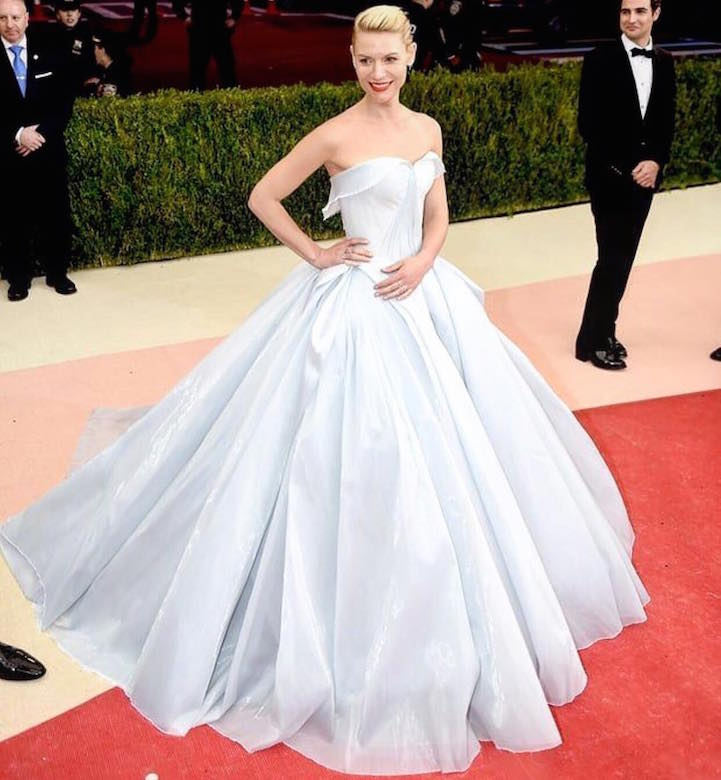 Claire Danes Becomes Real Life Cinderella At The Met Gala