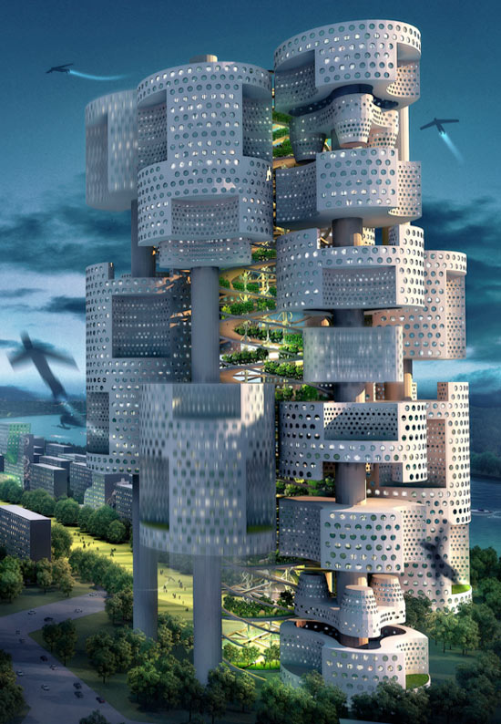 I Love Modern Architecture A Magnificent Urban Plan Proposal Ansan City South Korea