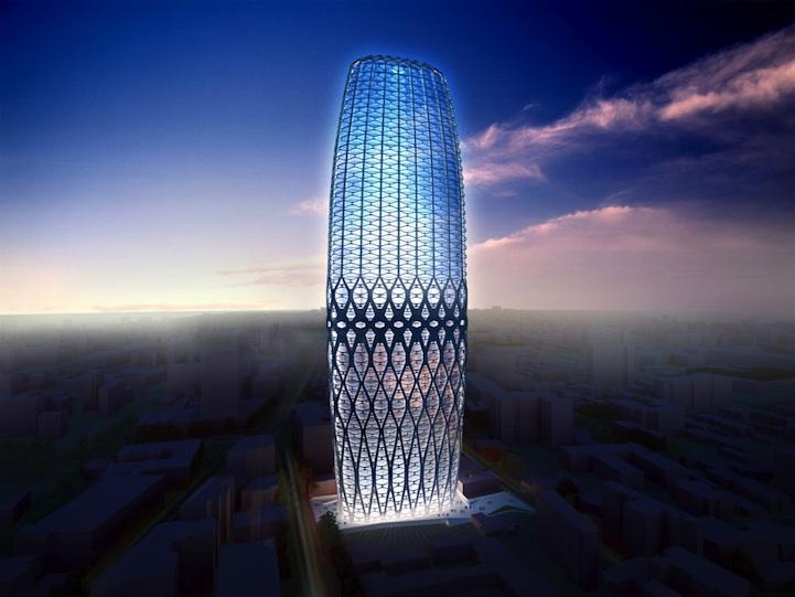 I Love Modern Architecture Dorobanti Tower Bucharest Romania