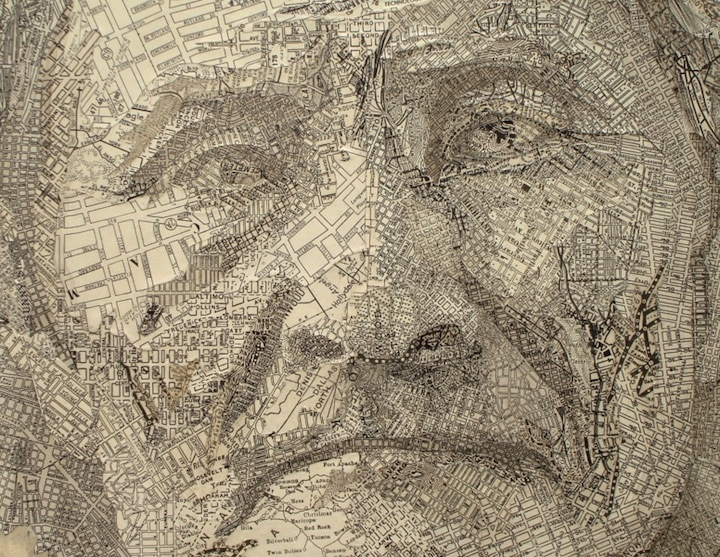 Meticulously Detailed Map Art (10 pics) on map crafts, map google search, map japan, map of the dolls island, map nautical charts, map skill builder, art design, map painting, map dress, map united states history, map of documents, map mural, map of united states area code, map design, map china, map furniture, photography art, map south florida fair, architectural art, map australia, map of the mind, commercial art, map india, map wall paper,