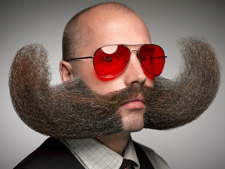 cool facial hair designs