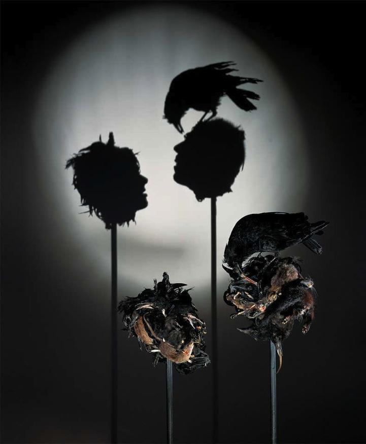 Shadow Art Part - 16: Tim Noble Sue Webster Shadow Art
