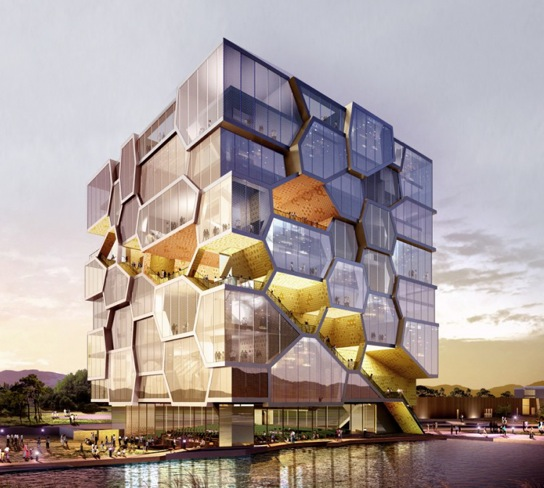 modern architecture united nations memorial cube. Black Bedroom Furniture Sets. Home Design Ideas