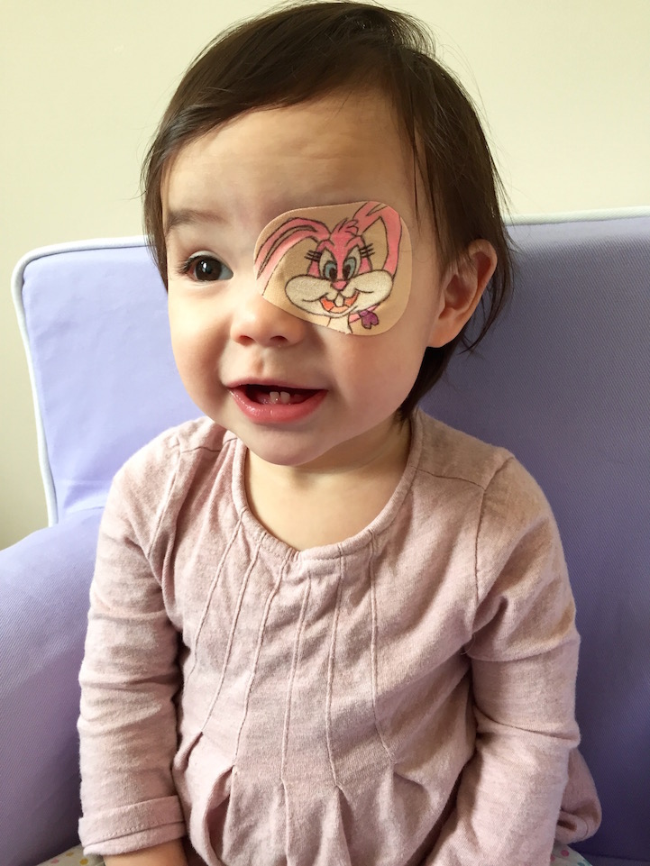 Loving Father Creates Adorable Drawings On Daughter S Eye Patch