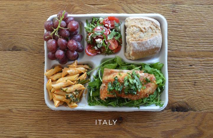 Šolska prehrana po svetu