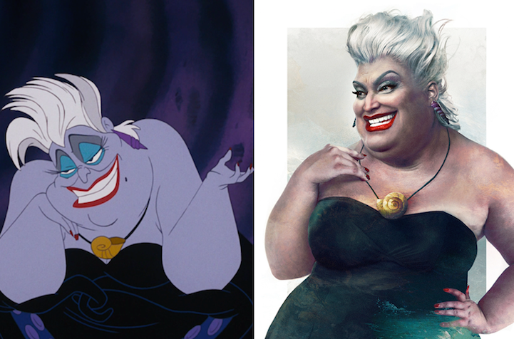 Artist Brilliantly Imagines What Disney Villains Would Look Like In