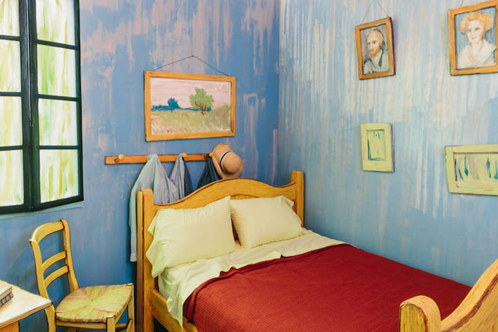 Famous Van Gogh Painting Is Turned into a Real Bedroom to Rent on ...