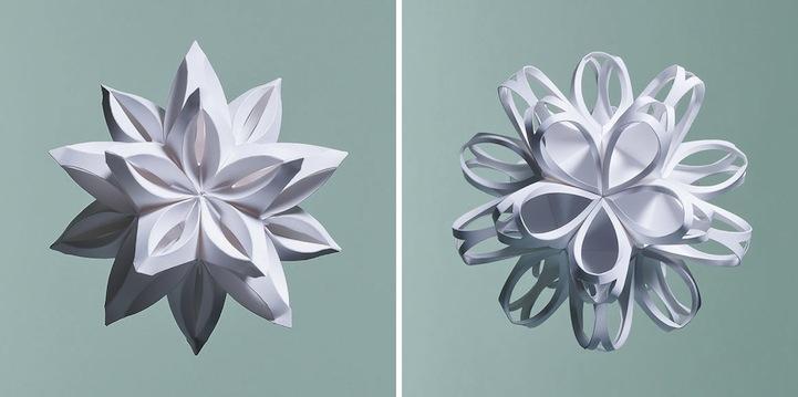 Intricately folded geometric paper sculptures mightylinksfo