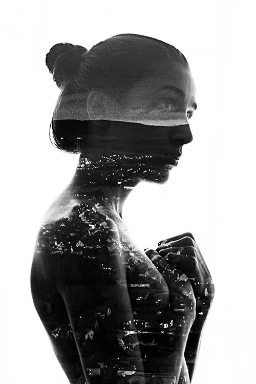 photographer shares how she makes dreamy double exposure