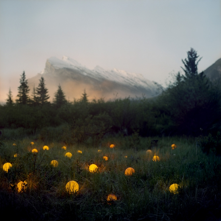 Surreal Light Scenes Created Deep Within Nature By Barry