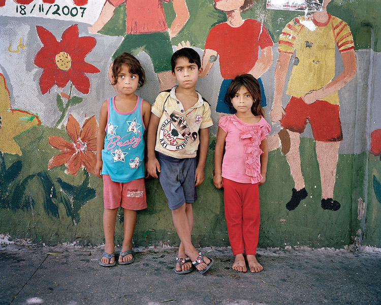 Palestinian Refugee Children Find Homes In The City Walls Of Lebanon