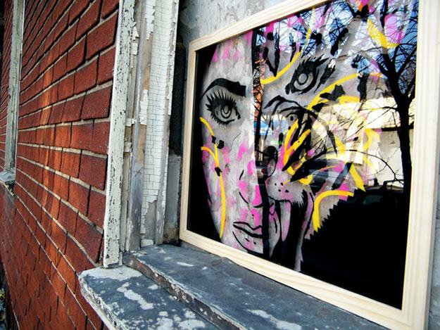 Urban Street Art: PaperMonster Hits Brooklyn | 625 x 469 jpeg 191kB