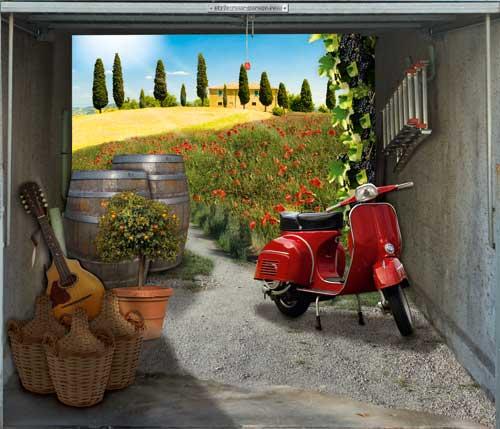 Style Your Garage Door 23 Pics