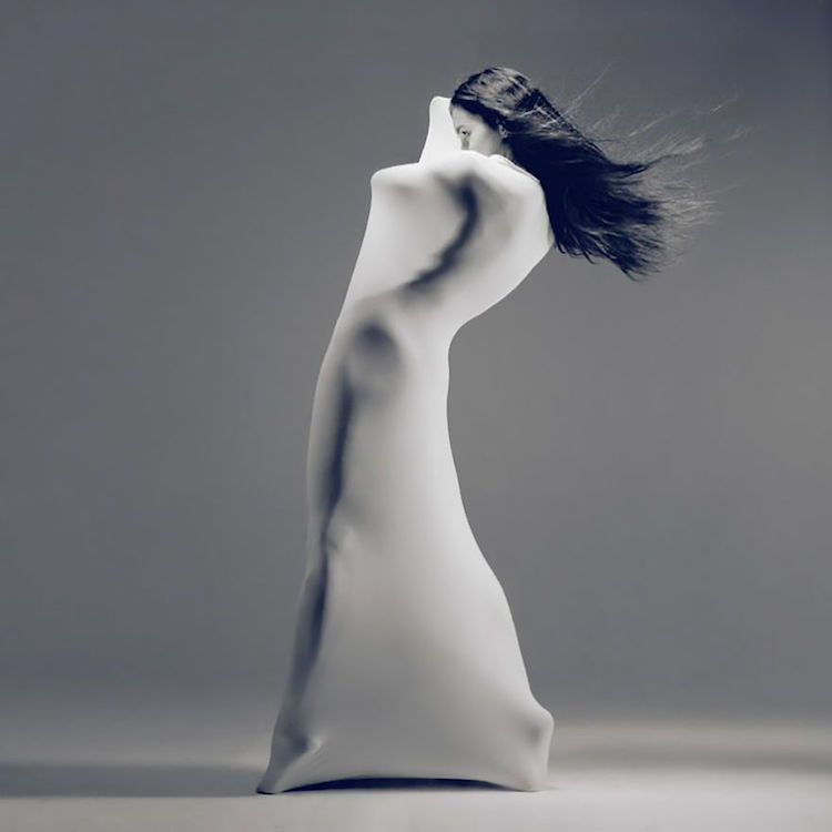 Dance Portrait With Draped Featured Figure