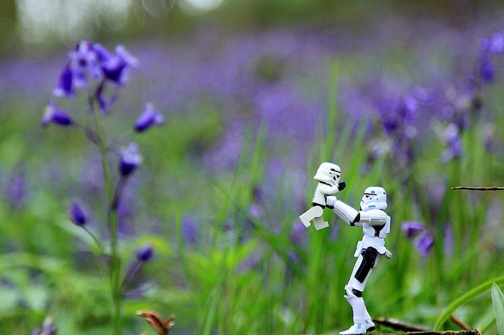 The Secret Life of Stormtroopers and Their Mini-Me's