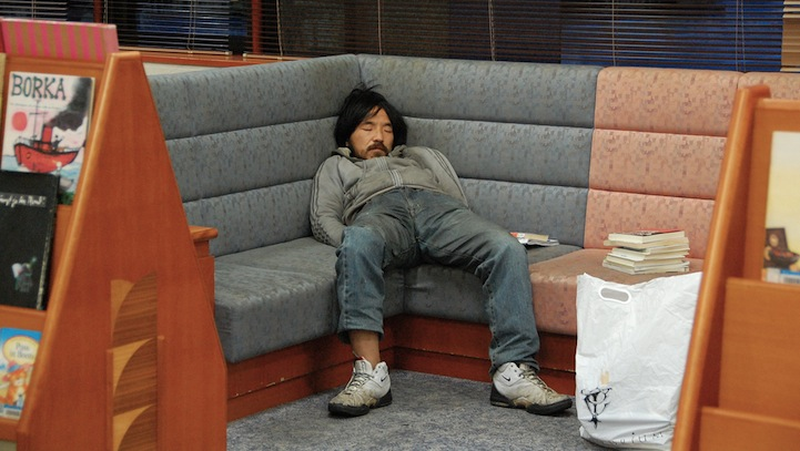 funny photos of people caught sleeping in libraries