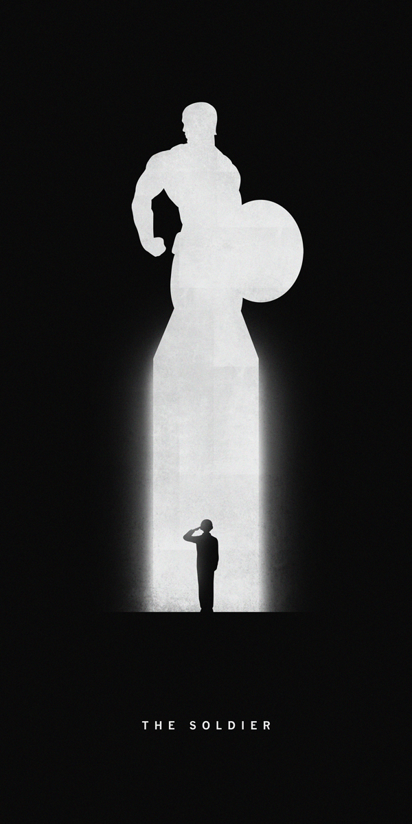 Ant Man Minimalism 12k Wallpaper Source Silhouettes Of Superheroes Reveal Their Past And Present Part II