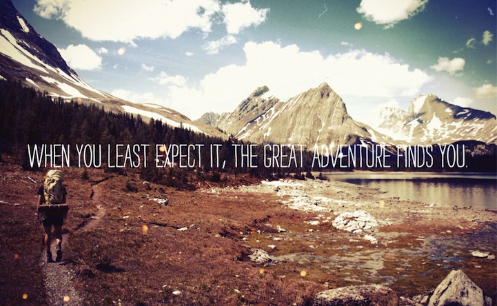 60 Best Adventure Quotes And Sayings: 25 Inspiring Quotes Layered Onto Landscapes Photos