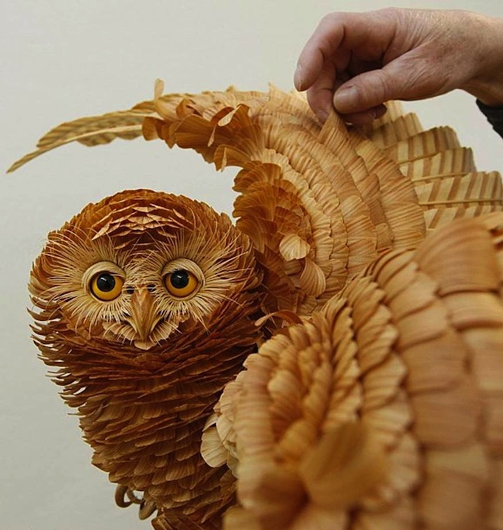 Carve a little owl wood carving magazine woodworkersinstitute