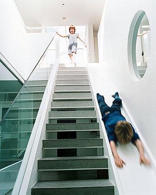 A Modern Green Underground Family Fun House