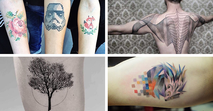 Breakthrough tattoo artists who took 2015 by storm for Modern art tattoo