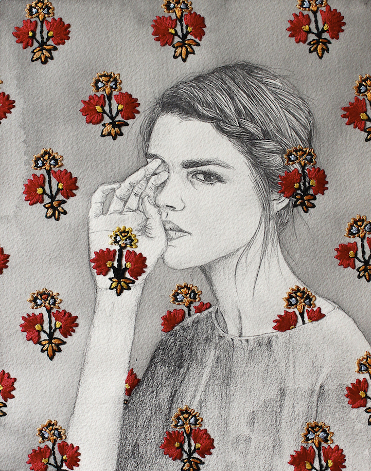 Artists creatively pushing the boundaries of embroidery
