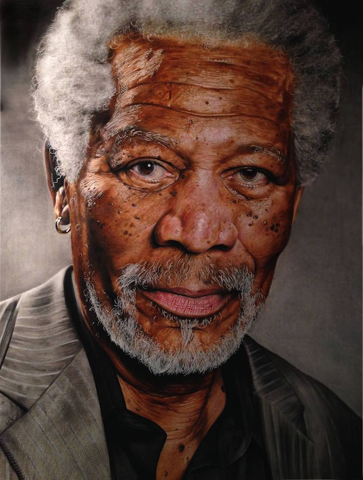 Image of: Pencil Drawings My Modern Met 18yearold Artists Amazingly Realistic Drawings Of Celebrities