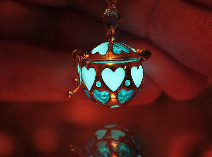 mystical glowinthedark jewelry emits an ethereal