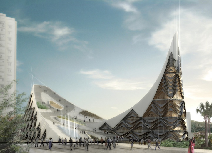 Old And New Architecture Design Relationship modern architecture: elaborate opera house in turkey (4 pics)