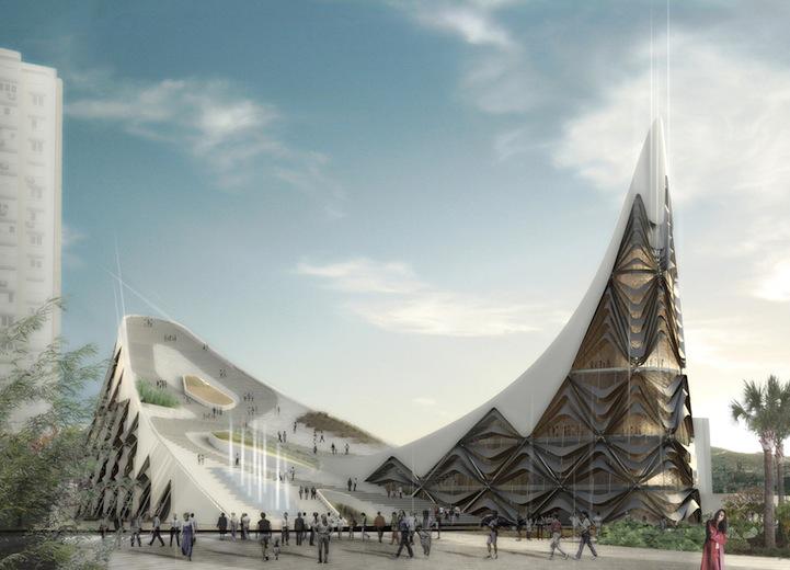 Modern Architecture Elaborate Opera House In Turkey 4 Pics