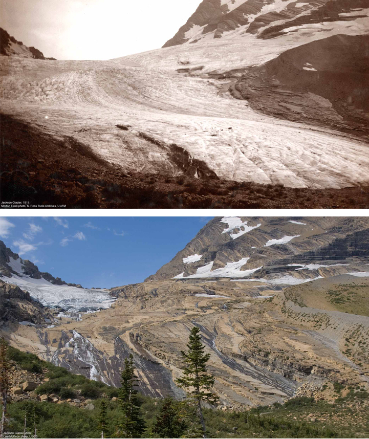 Before and After Photos Reveal How Much Glaciers Have ...