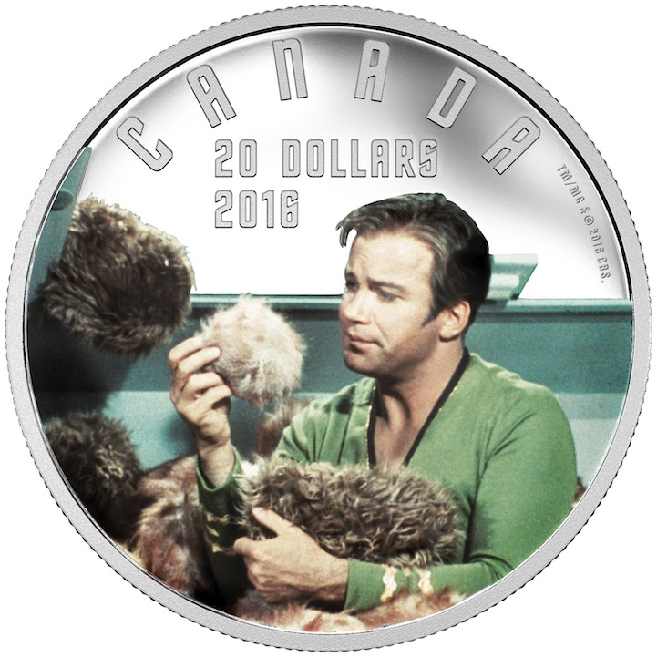 Canada Has Quot Star Trek Quot Coins That Can Actually Be Used As