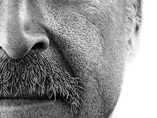 2 1 Million Dot Portrait Aims To Help Amnesiac Man