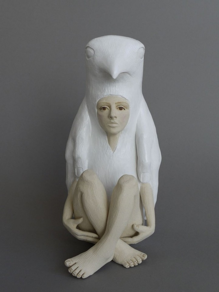 Owl Tumblr Striking Ceramic Sculp...