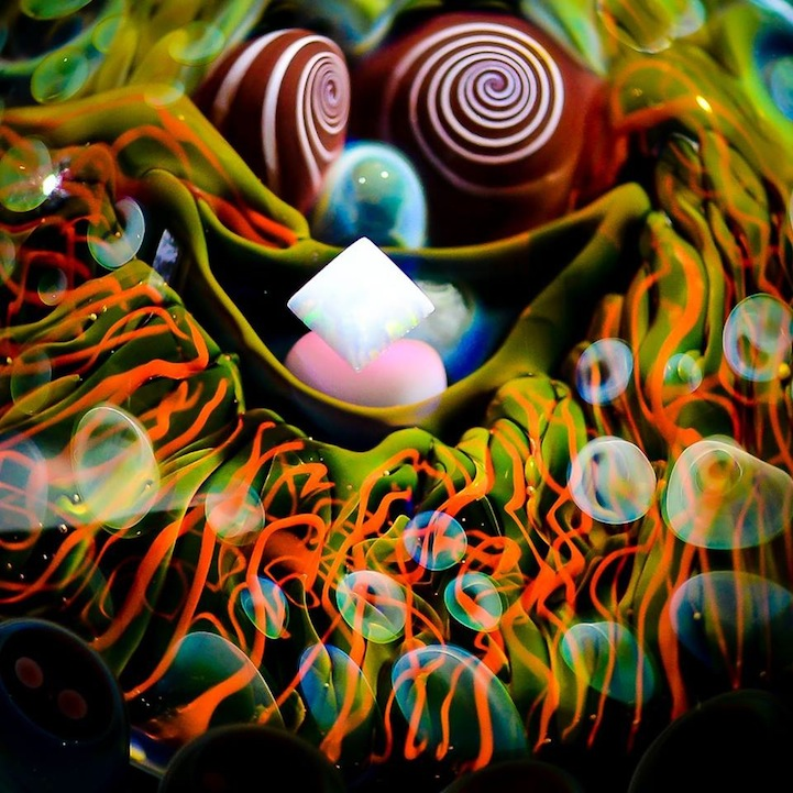 Marble Fractal Game